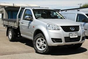 2013 Great Wall V240 K2 MY13 4x2 Silver 5 Speed Manual Cab Chassis Hillcrest Port Adelaide Area Preview