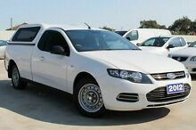 2012 Ford Falcon FG MkII EcoLPi Ute Super Cab White 6 Speed Sports Automatic Utility Craigieburn Hume Area Preview