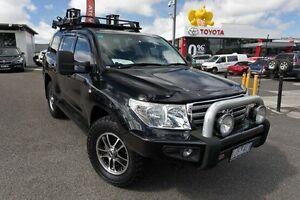 2010 Toyota Landcruiser VDJ200R MY10 Sahara Black 6 Speed Sports Automatic Wagon Keysborough Greater Dandenong Preview