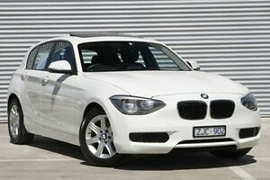 2012 BMW 116i White Sports Automatic Hatchback Ringwood East Maroondah Area Preview