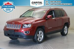 2017 Jeep Compass * 4WD * Leather * Sunroof *