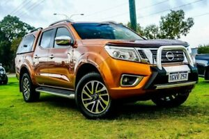 2015 Nissan Navara D23 ST-X Orange 6 Speed Manual Utility Wangara Wanneroo Area Preview