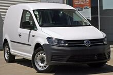 2015 Volkswagen Caddy 2KN MY16 TSI220 SWB DSG White 7 Speed Sports Automatic Dual Clutch Van Mitchell Park Ballarat City Preview