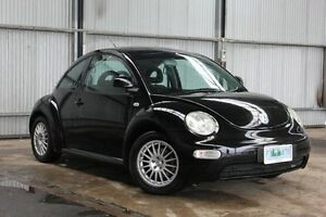 2000 Volkswagen Beetle 9C Black 5 Speed Manual Coupe Derwent Park Glenorchy Area Preview