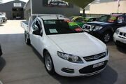 2012 Ford Falcon FG MK2 (LPi) White 6 Speed Automatic Cab Chassis Mitchell Gungahlin Area Preview