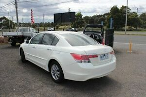 2008 Honda Accord 8th Gen VTi White 5 Speed Sports Automatic Sedan Moorabbin Kingston Area Preview
