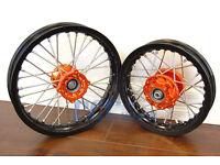 Tusk Complete Front Wheel 12x1.60 KTM 50 SX HUSQVARNA TC 50 2015-2018 front rim