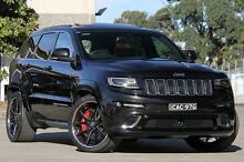 2014 Jeep Grand Cherokee WK MY14 SRT 8 (4x4) Black 8 Speed Automatic Wagon Petersham Marrickville Area Preview