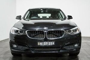 2013 BMW 320D F34 MY0613 Sport Line Gran Turismo Black 8 Speed Sports Automatic Hatchback