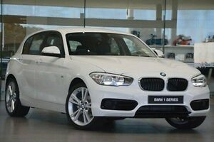 2016 BMW 118d F20 LCI Sport Line Steptronic White 8 Speed Sports Automatic Hatchback Wangara Wanneroo Area Preview