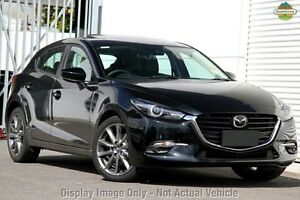 2016 Mazda 3 BN MY17 SP25 Astina Soul Red 6 Speed Automatic Hatchback Gymea Sutherland Area Preview