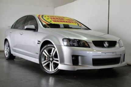 2010 Holden Commodore VE MY10 SV6 Silver 6 Speed Automatic Sedan