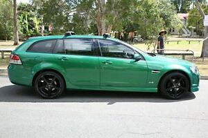 2011 Holden Commodore VE II MY12 SV6 Sportwagon Green 6 Speed Sports Automatic Wagon Yeerongpilly Brisbane South West Preview