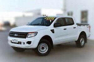 2013 Ford Ranger PX XL Double Cab White 6 Speed Sports Automatic Utility Pakenham Cardinia Area Preview