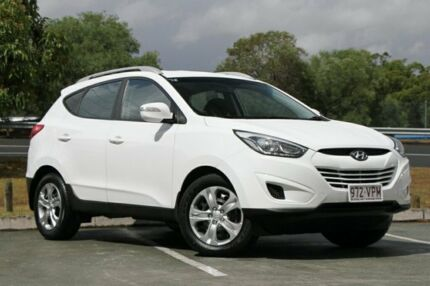2015 Hyundai ix35 LM3 MY15 Active White 6 Speed Sports Automatic Wagon Springwood Logan Area Preview