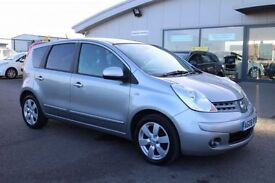 NISSAN NOTE 1.6 TEKNA 5d AUTO 109 BHP - 360 SPIN ON WEBSITE (silver) 2008
