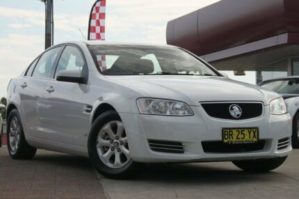 2012 Holden Commodore VE II MY12 Omega White 6 Speed Automatic Sedan
