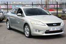 2009 Ford Mondeo MB XR5 Turbo Silver 6 Speed Manual Hatchback Heatherton Kingston Area Preview