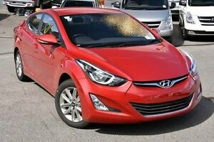 2015 Hyundai Elantra MD3 SE Red 6 Speed Sports Automatic Sedan Myaree Melville Area Preview