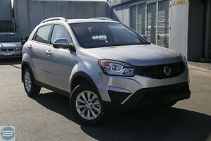 2015 Ssangyong Korando C200 MY15 S 2WD Silent Silver 6 Speed Automatic Wagon Rockingham Rockingham Area Preview