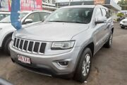 2013 Jeep Grand Cherokee WK MY2014 Laredo Silver 8 Speed Sports Automatic Wagon Slacks Creek Logan Area Preview