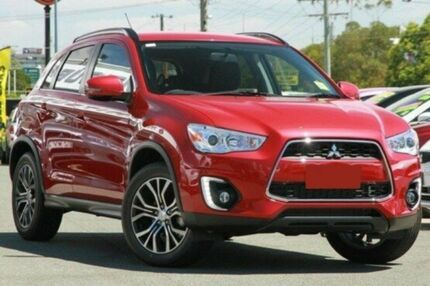 2015 Mitsubishi ASX XB MY15.5 LS 2WD Red 6 Speed Constant Variable Wagon Invermay Launceston Area Preview