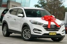 2015 Hyundai Tucson TLE Elite D-CT AWD White 7 Speed Sports Automatic Dual Clutch Wagon Pennant Hills Hornsby Area Preview