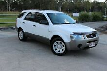 2007 Ford Territory SY TX AWD White 6 Speed Auto Seq Sportshift Wagon Capalaba West Brisbane South East Preview