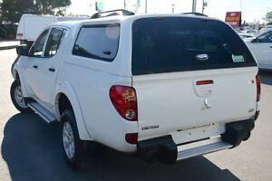 2011 Mitsubishi Triton MN MY12 GL-R Double Cab White 4 Speed Automatic Utility Acacia Ridge Brisbane South West Preview