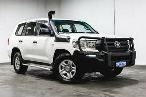 2016 Toyota Landcruiser VDJ200R GX White 6 Speed Sports Automatic Wagon