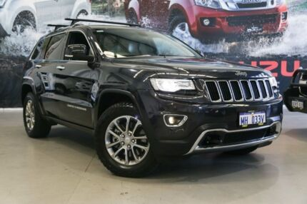 2014 Jeep Grand Cherokee WK MY14 Limited (4x4) Grey 8 Speed Automatic Wagon Rockingham Rockingham Area Preview