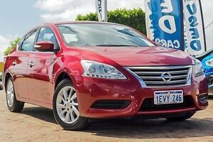 2015 Nissan Pulsar B17 Series 2 ST Red 1 Speed Constant Variable Sedan Embleton Bayswater Area Preview