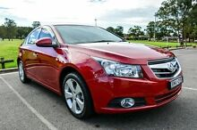 2009 Holden Cruze JG CDX Red 6 Speed Automatic Sedan Wetherill Park Fairfield Area Preview