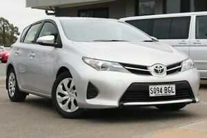 2013 Toyota Corolla ZRE182R Ascent S-CVT Silver 7 Speed Constant Variable Hatchback Hillcrest Port Adelaide Area Preview