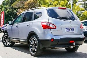2013 Nissan Dualis J107 Series 4 MY13 +2 Hatch X-tronic 2WD Ti-L Silver 6 Speed Constant Variable Victoria Park Victoria Park Area Preview