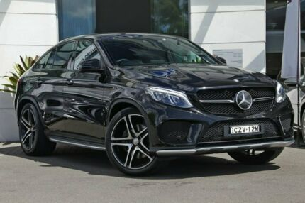 2015 Mercedes-Benz GLE450 C292 AMG Coupe 9G-Tronic 4MATIC Black 9 Speed Sports Automatic Wagon Kirrawee Sutherland Area Preview