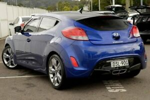 2012 Hyundai Veloster FS + Coupe D-CT Purple 6 Speed Sports Automatic Dual Clutch Hatchback