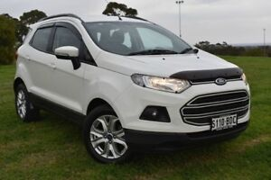 2014 Ford Ecosport BK Trend PwrShift White 6 Speed Sports Automatic Dual Clutch Wagon St Marys Mitcham Area Preview
