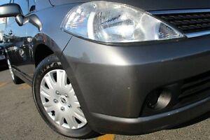 2008 Nissan Tiida C11 MY07 ST Grey 4 Speed Automatic Hatchback