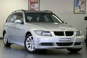 2007 BMW 320i E91 MY08 Touring Silver 6 Speed Manual Wagon Chatswood Willoughby Area Preview
