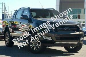2016 Ford Ranger PX MkII Wildtrak Double Cab Black 6 Speed Sports Automatic Utility Medindie Walkerville Area Preview