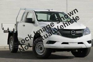 2016 Mazda BT-50 UR0YF1 XT Freestyle White 6 Speed Sports Automatic Cab Chassis Kalamunda Kalamunda Area Preview