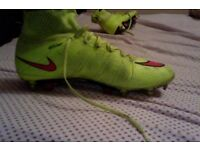 NIKE MERCURIALS FOOTBALL BOOTS