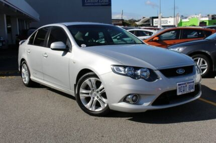 2009 Ford Falcon FG XR6 Silver Pearl 5 Speed Sports Automatic Sedan Claremont Nedlands Area Preview