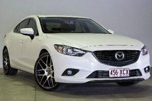 2013 Mazda 6 GJ1031 GT White Semi Auto Sedan Northgate Brisbane North East Preview