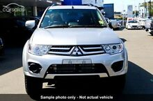 2015 Mitsubishi Challenger PC (KH) MY14 Silver 5 Speed Sports Automatic Wagon Burnie Burnie Area Preview