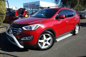 2013 Hyundai Santa Fe DM MY14 Elite Red 6 Speed Sports Automatic Wagon Seaford Frankston Area Preview
