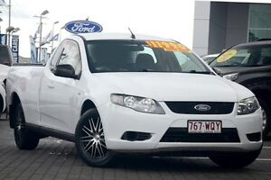 2008 Ford Falcon FG Super Cab White 5 Speed Sports Automatic Cab Chassis Moorooka Brisbane South West Preview