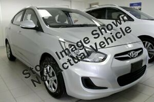 2014 Hyundai Accent RB2 Active Silver 4 Speed Sports Automatic Sedan Lidcombe Auburn Area Preview
