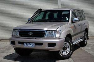 2001 Toyota Landcruiser HDJ100R GXL Silver 4 Speed Automatic Wagon Seaford Frankston Area Preview